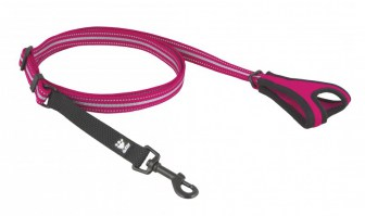 hurtta_outdoors_jogging_leash_20mm_cherry